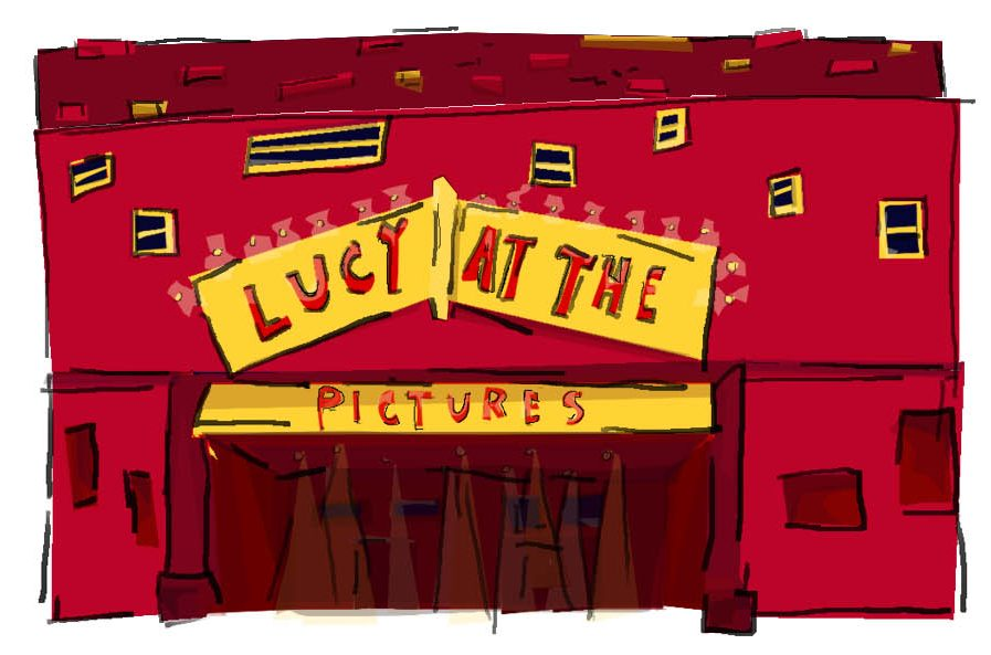 Lucy at the Pictures